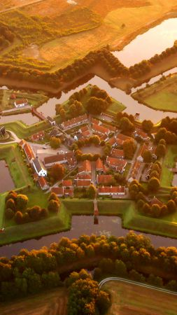 Bourtange, Nederland, Tourism, Travel (vertical)