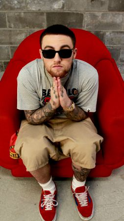 Mac Miller, Top music artist and bands, rapper, singer (vertical)