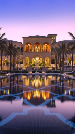 One&Only The Palm, Dubai, Best hotels, tourism, travel, resort, booking, vacation, pool (vertical)