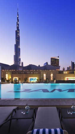 DAMAC Maison Hotel, Dubai, Best hotels, tourism, travel, resort, booking, vacation, pool (vertical)