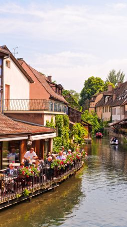 Colmar, France, Tourism, Travel (vertical)