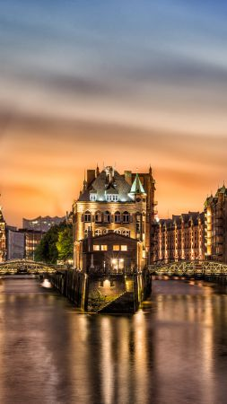 Hamburg, Germany, Travel, Tourism (vertical)