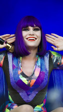 Jessie J, Top music artist and bands, singer,  (vertical)