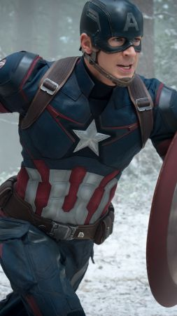 Avengers: Age of Ultron, Best Movies of 2015, Avengers 2, Chris Evans, Captain America (vertical)