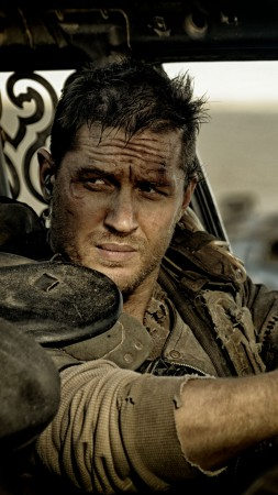 Mad Max: Fury Road, best movies of 2015, Tom Hardy, stills (vertical)