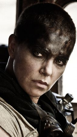 Mad Max: Fury Road, best movies of 2015, Charlize Theron, stills (vertical)