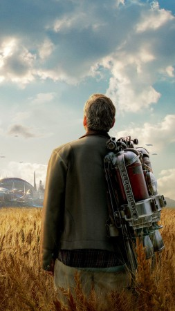 Tomorrowland, 2015, best movies of 2015, George Clooney, stills (vertical)
