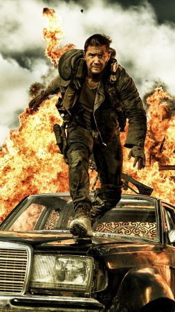 Mad Max: Fury Road, best movies of 2015, Nicholas Hoult, stills (vertical)