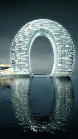 Sheraton Huzhou Hot Spring Resort, China, Best hotels, tourism, travel, resort, booking, vacation (vertical)