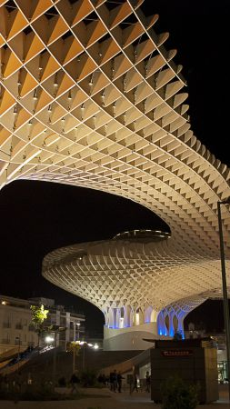 metropol parasol, sevilla, Spain, Best hotels, tourism, travel, resort, booking, vacation (vertical)