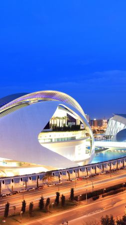 City of Arts and Sciences, Spain, Tourism, Travel (vertical)