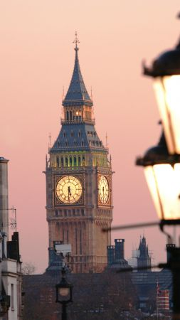Big-Ben, London, England, Tourism, Travel (vertical)