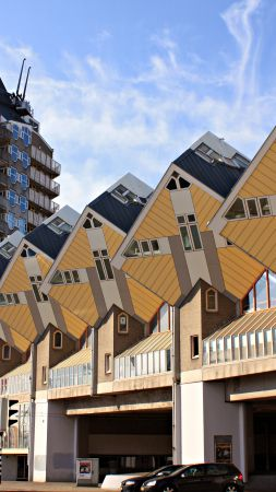 Rotterdam, Cube houses, Travel (vertical)