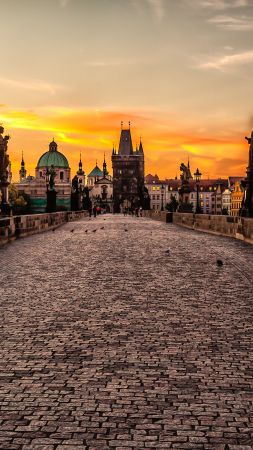 Mystic Prague Tour, Czech Republic, Tourism, Travel (vertical)