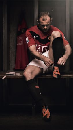 Football, Wayne Rooney, The best football players, Manchester United (vertical)