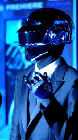 Daft Punk, Top music artist and bands, electronic, Guy-Manuel de Homem-Christo, Thomas Bangalter (vertical)