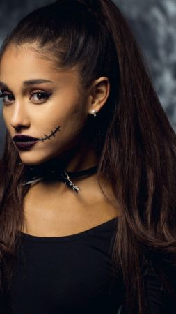 Ariana Grande, Top music artist and bands, singer, actress, beach (vertical)