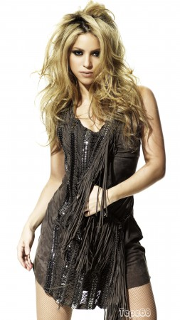 Shakira, Top music artist and bands, singer, model (vertical)