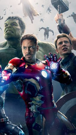 Avengers: Age of Ultron, Best Movies of 2015, Avengers 2 (vertical)