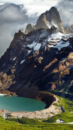 Patagonia, Argentina, mountains, lake