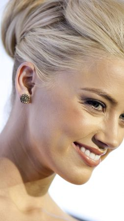 Amber Heard, Most Popular Celebs, actress, blonde (vertical)