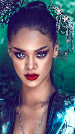 Rihanna, Top music artist and bands, singer, actress (vertical)