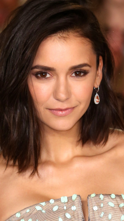 Nina Dobrev, Most Popular Celebs, Actress, television star, brunette, model (vertical)