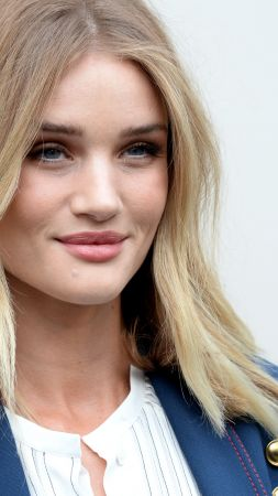 Rosie Huntington, Victoria's Secret Angel, model, fashion, blonde, portrait (vertical)