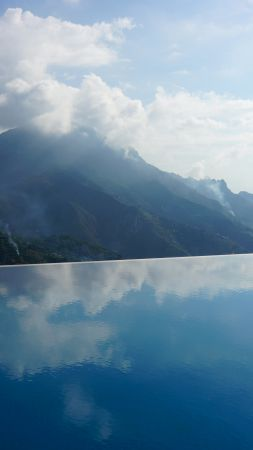 Hotel Caruso, Italy, infinity pool, travel, tourism