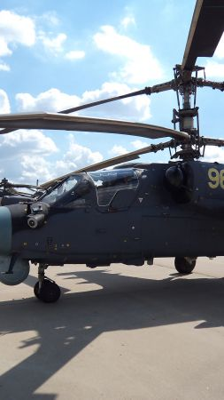 Ka-52, helicopter, Russian Army (vertical)