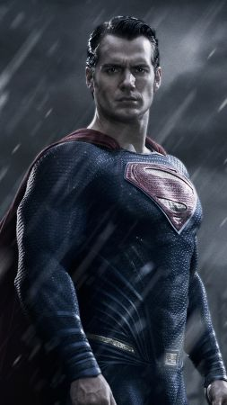 Batman v Superman: Dawn of Justice, Best Movies of 2015, movie, Henry Cavill, Superman (vertical)