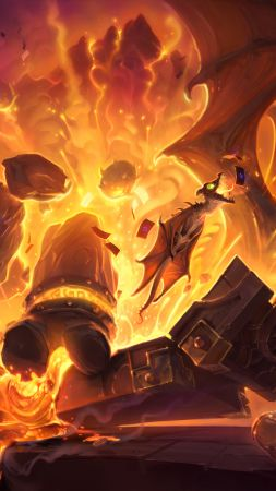 HearthStone, Heroes of Warcraft, BlackRock Mountain, Best Games 2015, game, fantasy, quest, PC, Apple, Android (vertical)