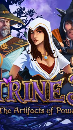 Trine 3: The Artifacts of Power, Best Game, game, arcade, fairytale, PC, PS4 (vertical)