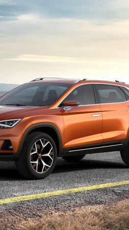SEAT 20V20, concept, crossover, orange. (vertical)