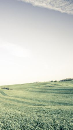 Ansbach, 4k, 5k wallpaper, Germany, meadows, sky (vertical)