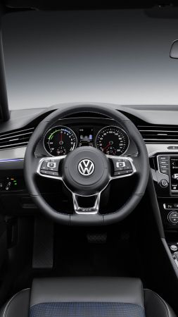 Cross Coupe GTE, Volkswagen, coupe, hybrid, interior. (vertical)