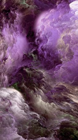 Clouds, 8k, 4k, 5k wallpaper, abstract, purple, live wallpaper, live photo (vertical)