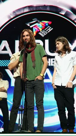 Tame Impala, Top music artist and bands, Kevin Parker, Dominic Simper, Jay Watson, Cam Avery, Julien Barbagallo (vertical)