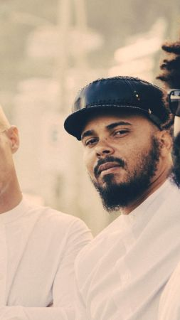Major Lazer, Top music artist and bands, Walshy Fire, Diplo, Jillionaire (vertical)