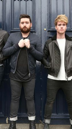 Kodaline, Top music artist and bands, Steve Garrigan, Vinny May, Jason Boland, Mark Prendergast (vertical)