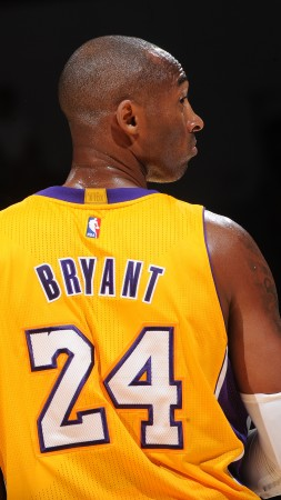 NBA, Kobe Bryant, Best Basketball Players of 2015, Los Angeles Lakers, basketball player, Shooting guard (vertical)