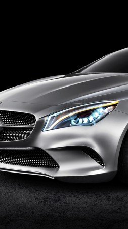 Mercedes-Benz Concept Coupe, coupe, review, buy, rent (vertical)