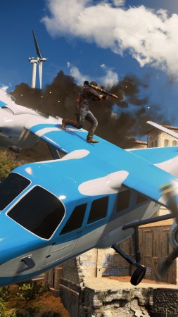 Just Cause 3, Best Games 2015, game, shooter, open world, PC, PS4, Xbox One (vertical)