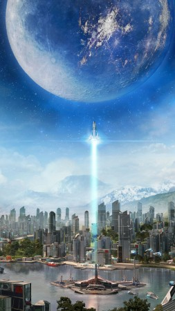Anno 2205, Best Games 2015, game, sci-fi, PC