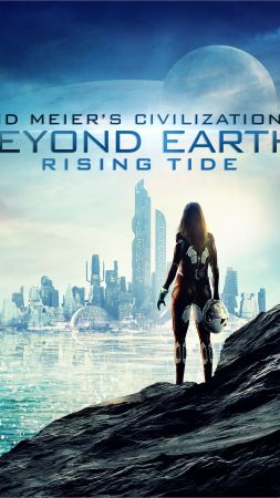 Sid Meier's Civilization: Beyond Earth — Rising Tide, Best Games 2015, game, sci-fi, PC (vertical)