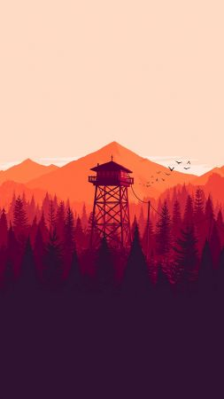 Firewatch, Best Games 2015, game, quest, horror, PC (vertical)