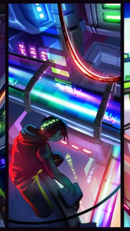 Hover: Revolt of Gamers, Best Games 2015, game, quest, open world, cyberpunk, sci-fi, PC (vertical)