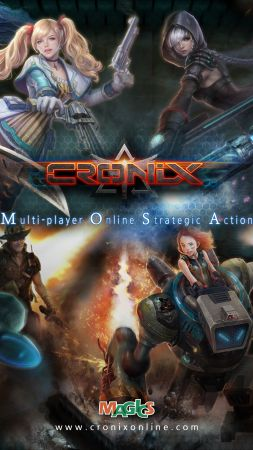 CroNix, Best Games 2015, game, arcade, indie, PC (vertical)