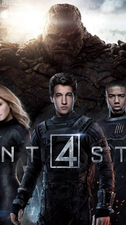 Fantastic Four, Best Movies of 2015, movie, Kate Mara, Miles Teller (vertical)