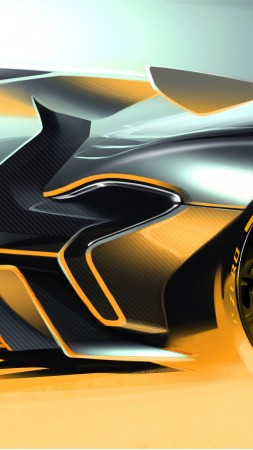 McLaren P1, supercar, McLaren, luxury cars, sports car, hybrid, P1 GTR, concept, review (vertical)